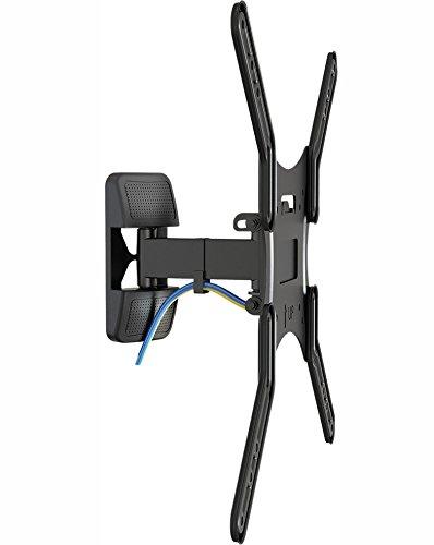Invision® Neig- und Schwenkbare TV-Wandhalterung für 19 bis 47 Zoll LED, LCD und Plasma-Bildschirme. Max. VESA 400 * Bitte vor dem Kauf die VESA-Montagebohrungen Ihres TV-Geräts überprüfen * (HDTV-S)
