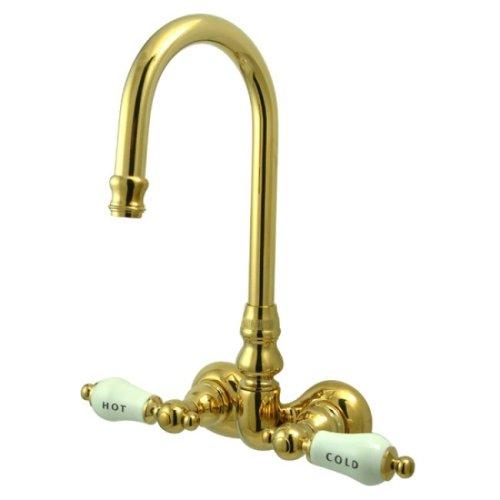 Tub Filler-handshower (Kingston Brass cc73t2Vintage Bein Tub Filler, CC73T2)