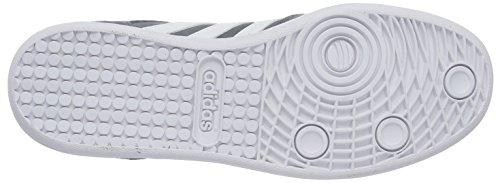 adidasCROSS COURT - Scarpe fitness Uomo Grigio (schwarz/Weiß/Gold)
