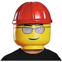 Máscara trabajador de la construcción LEGO niño