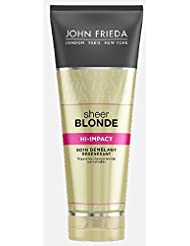 JOHN FRIEDA Sheer Blonde Soin Démêlant Régénérant Hi-Impact 250 ml