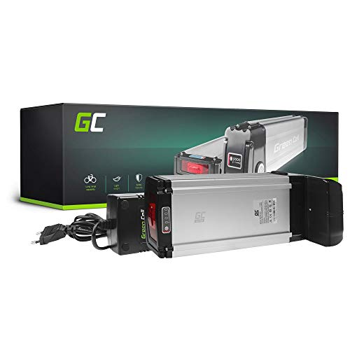 Green Cell EBIKE 36V 20.3Ah Batteria Rear Rack Pedelec con Celle Panasonic Li-Ion e Caricabatterie Olympia Motiv Kymco Fantic Biruni Bicicletta Elettrica