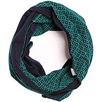 Be! Mama 2in1 Stillschal WRAP SOUL aus Baumwolle, Stilltuch für diskretes Stillen, Halstuch, Wendeschal - Farbauswahl