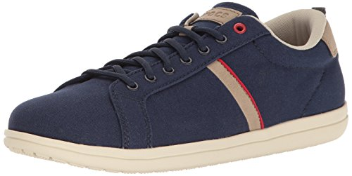 crocs Mens Torino Lace-Up M Fashion Sneaker Navy/Stucco