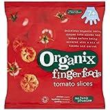 Organix Comer Con Los Dedos Rodajas De Tomate Orgánicos 7Mth + (20g) (Paquete de 2)