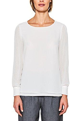 ESPRIT Collection Camicia Donna Bianco (Off White 110)