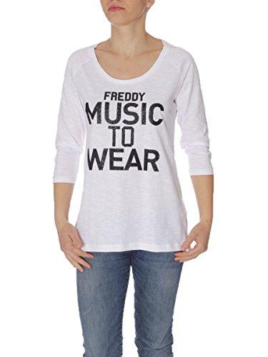 FREDDY - T-shirt - Femme Bianco