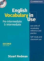 English Vocabulary in Use Pre-Intermediate and Intermediate Book and CD-ROM Pack by Stuart Redman (2006-03-27)