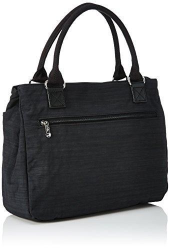 Kipling Damen Caralisa Henkeltasche, 34x25x11 cm Dazz Black