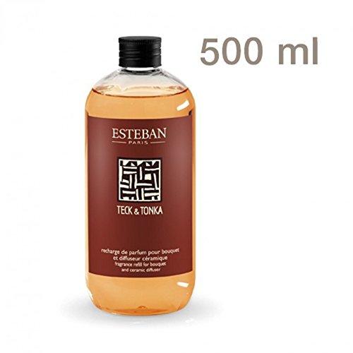 Nachfüllflasche Raumduft Esteban Paris Teck & Tonka Zimt und Patchouli - XXL 500ml