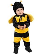 Fancy Steps Honey Bee Insects Fancy Dress Costumes For Kids 4 To 6 Years