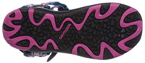 Northland Active Ls Sandal, Sandales sport et outdoor femme Blanc (White/pink)