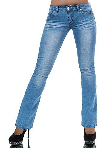 l781-damen-jeans-hose-damenjeans-bootcut-schlag-schlaghose-normaler-bund-farbenblaugrossen36-s