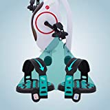 AsVIVA H14 Heimtrainer das Fitnessgerät, Sportgerät als Xbike oder Fitnessrad – das Fitnessbike, weiß/blau, H14_WHITE - 5