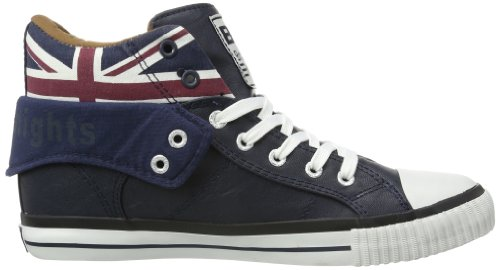 British Knights B30-3798, Hi-Top Slippers mixte adulte Bleu - Blau (navy 3)