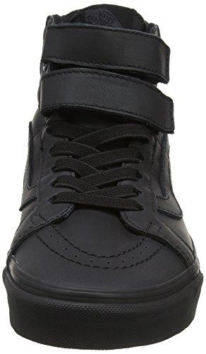 Vans Unisex-Erwachsene Sk8-Hi Reissue V Laufschuhe Schwarz (Blackmono Leather)