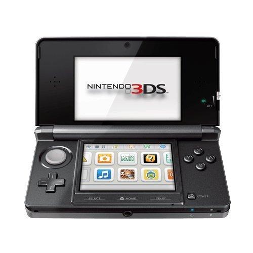 Nintendo 3DS - Konsole, Kosmos schwarz (Game Kinder Für Maker-software)
