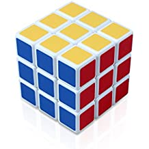 Edealing 1PCS Súper 5.8x5.8x5.8 Cubo Mágico Puzzle Giro Rubik Rompecabezas Inteligencia de juguete Juego de Niños Forma color