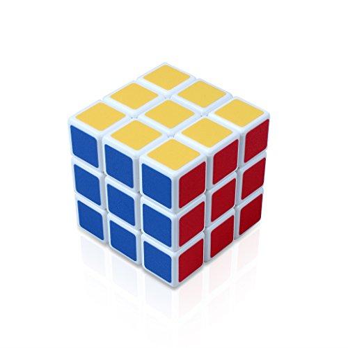 Edealing 1PCS Super 5.8x5.8x5.8 Cubo magico puzzle di torsione Rubik Rompicapo Forma Intelligenza gioco Kids (Piccola Torsione)