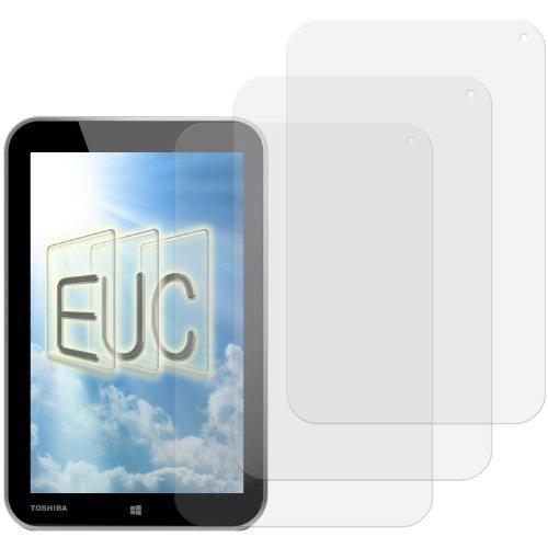 3 x Displayschutzfolie klar/wie unsichtbar für Toshiba Encore Tablet