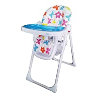Bebe Style Hilo Multi Function Recline Foldable Highchair (Flower Burst)