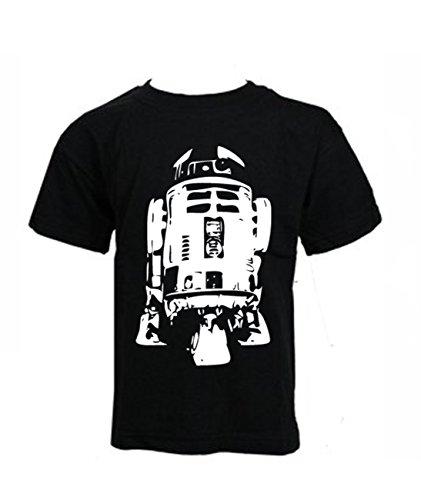 Blue Ray T-Shirts Kids - R2D2 - Star Wars Inspired Cult Droid Movie Boys T-Shirt