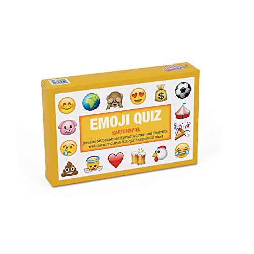 emotify spiel Emoji Kartenspiel Sprichwörter Quiz