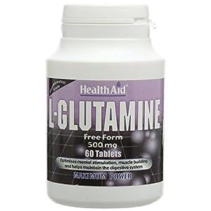 41Vuj09QItL. SS300  - HealthAid L-Glutathione 250mg - 60 Tablets
