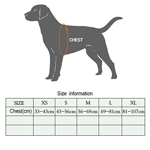 REXSONN® Ultra-Soft Hundegeschirr Softgeschirr Brustgeschirr Hunde Geschirr Sicherheitsgeschirr pet dog vest Harness - 2