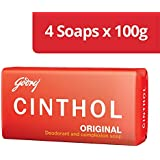 Godrej Cinthol Original Bath Soap, 100g (Pack of 4)