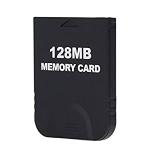 Childhood 128MB Black Memory Card 2043 Blöcke für Wii NGC Gamecube Konsole