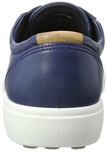 Ecco Herren Soft 7 Men's Low-Top Blau (1048true Navy) B4s6Q
