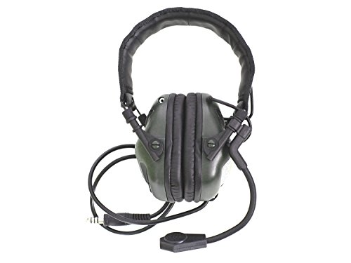 EARMOR Universal Bügel Headset M32 mit NRR 22 Schallschutz, voll verstellbar - olive...
