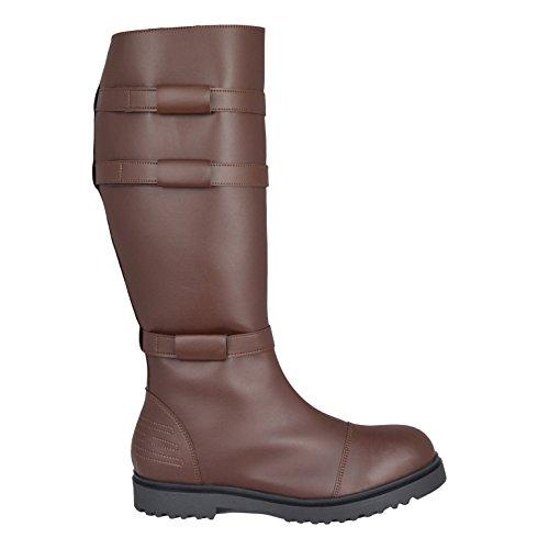 Imagen de star wars jedi obi wan kenobi botas  marrón  disfraz réplica  hombre s alternativa