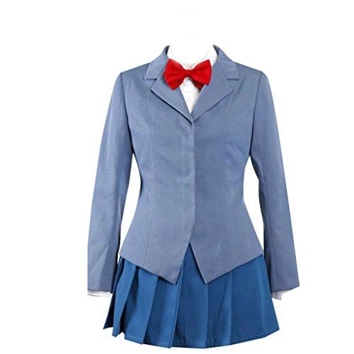 Dream2Reality japanische Anime Durarara Cosplay Kostuem - Raira Academy School Uniform Maedchen XX-Large