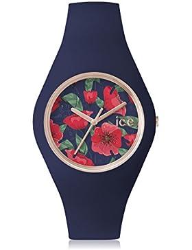 Ice-Watch Flower Damenuhr Analog Quarz mit Silikonarmband – 001606