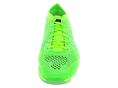 Nike Wmns Flyknit Zoom Agility, Scarpe da Ginnastica Donna, Talla Giallo (volt/white-elctrc grn-vpr grn)