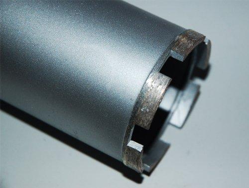 """1¼\"""" UNC Diamantbohrkrone Kernbohrkrone Kernbohrer DM 50 mm L 400 mm"""