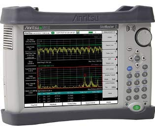 Anritsu S331E Site Master, 2 MHz to 4 GHz Cable & Antenna Analyzer - Anritsu Spectrum Analyzer