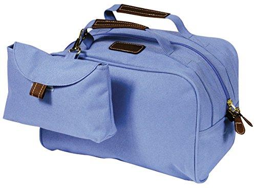 Marques & Prestige Vanity Trousse de Toilette plus Petite Sacoche, 27 cm, Bleu Ciel