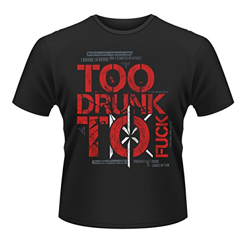 Dead Kennedys - Too Drunk To Fuck (T-Shirt Unisex Tg. M) [Italia]
