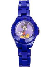 Mickey Mouse 25863 - Reloj analógico unisex de cuarzo con correa de plástico multicolor