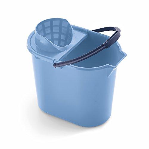 Mery 0312.31 Cubo Ovalado 12 litros Escurridor, Polipropileno