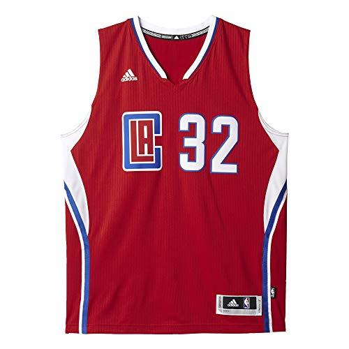 adidas Int Swingman T-Shirt LA Clippers für Basketball für Herren, Mehrfarbig (NBA Los Angeles Clippers 8-3Lp), XS