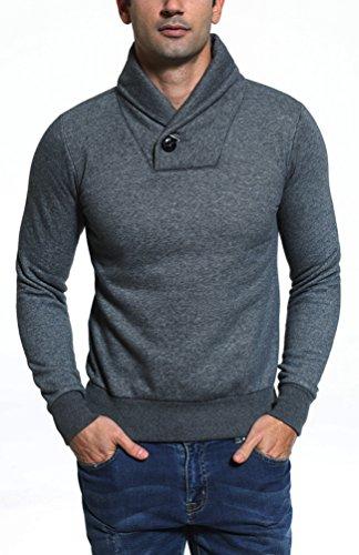... Brinny Hoodie Sweatshirt Herren Kapuze Pullover Pulli Sweater S-XXL  Sweatjacke baumwolle Dicker Slim Fit ...