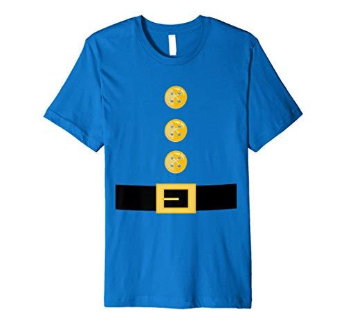 Funny Elf oder Garten Gnome Halloween-Kostüm T-Shirt (Gnome Halloween Kostüm)