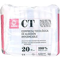 INDAS, Compresa Tocológica Algodón Impermeable, ...