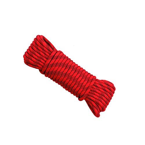 Beikal 10meters arrampicata corda di sicurezza, diametro 12mm, 12kn ad alta resistenza di cavo, climbing equipment corde per fire rescue, trekking, alpinismo