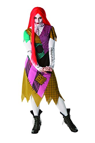 Rubie's Offizielles Nightmare Before Christmas Sally-Kostüm, für Erwachsene, Größe ()