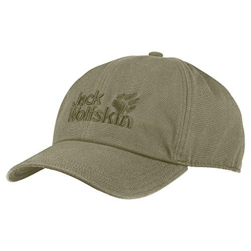 Jack Wolfskin Baseball Kappe, Khaki, ONE SIZE (56-61CM)